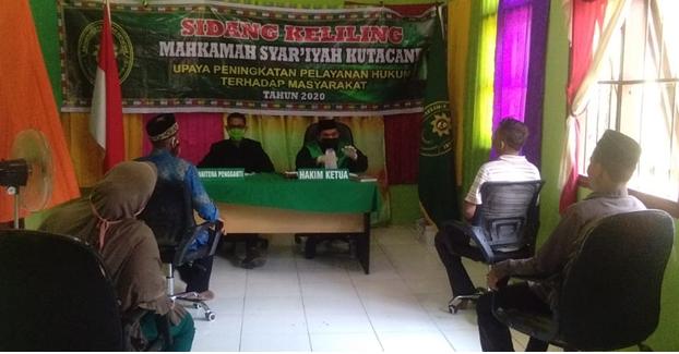 Lagi dan Lagi, Hakim MS Kutacane Sahkan Pernikahan 11 Pasutri di Perbatasan Aceh-Sumut